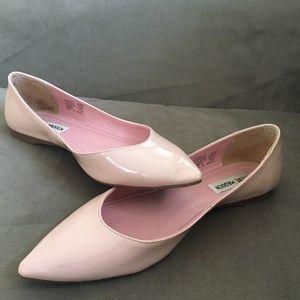 Steve Madden pale pink flats.
